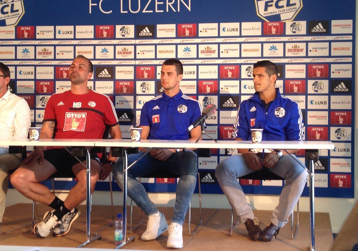 Im Juli 2016 präsentierte der FCL die beiden Neuzugänge Tomi Juric und Ricardo Costa