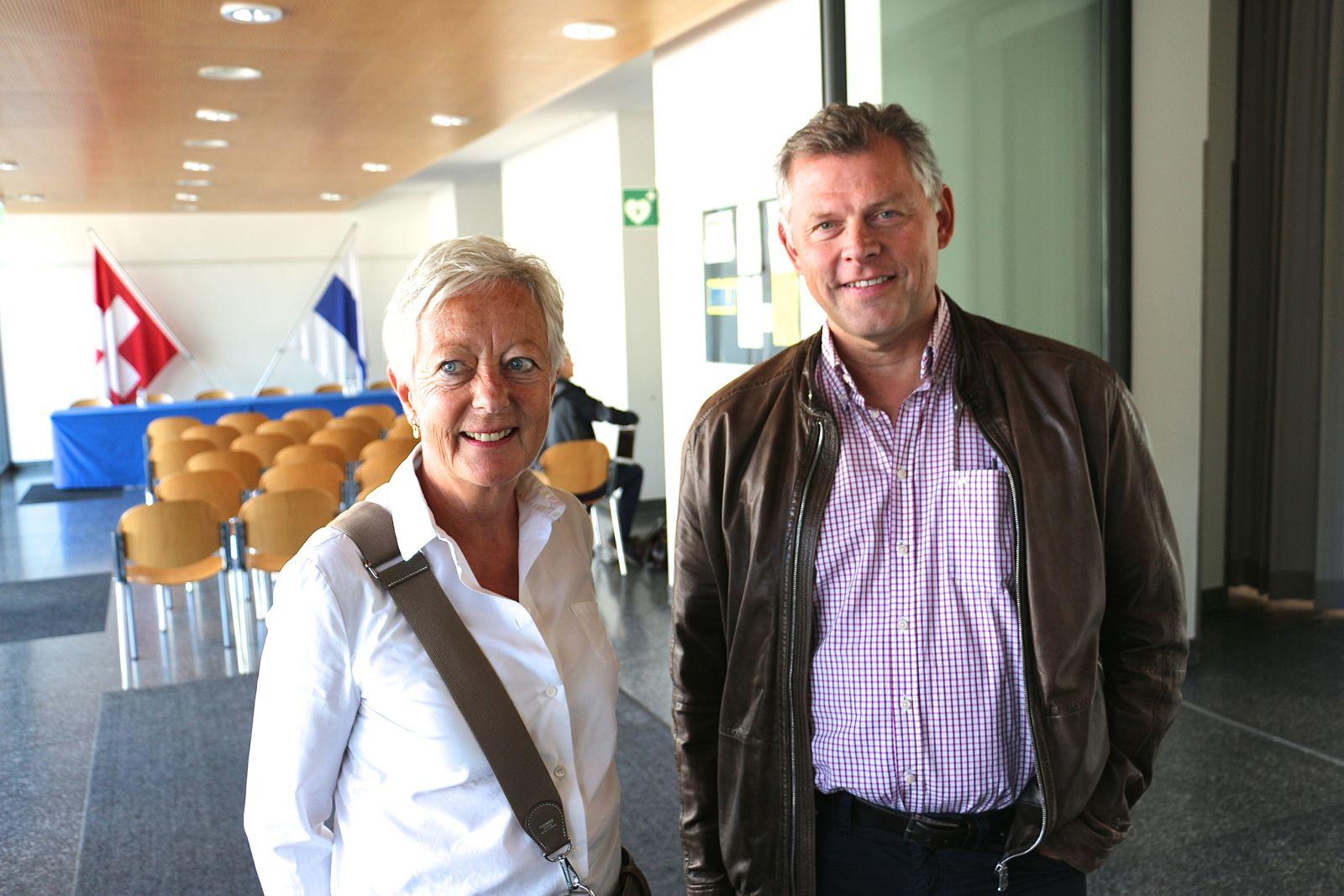 Stark engagiert: Die ehemalige Zuger CVP-Stadträtin Vreni Wicky und Andreas Kleeb leiteten 2014 gemeinsam das Komitee für die Doppelinitiative «Ja zur historischen Altstadt» und «Ja zu gesunden Stadtfinanzen» – die allerdings verloren ging.