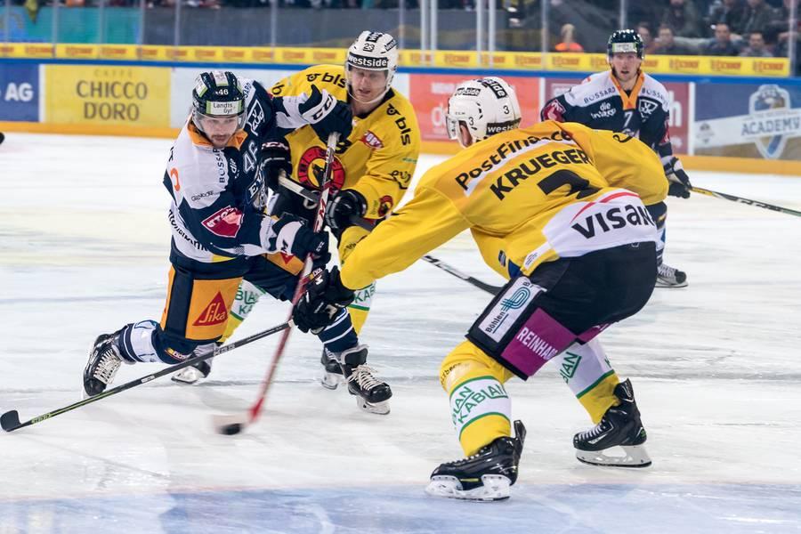 Der EVZ braucht mehr von ihm: Lino Martischini, hier im Eisatz gegen den SC Bern.