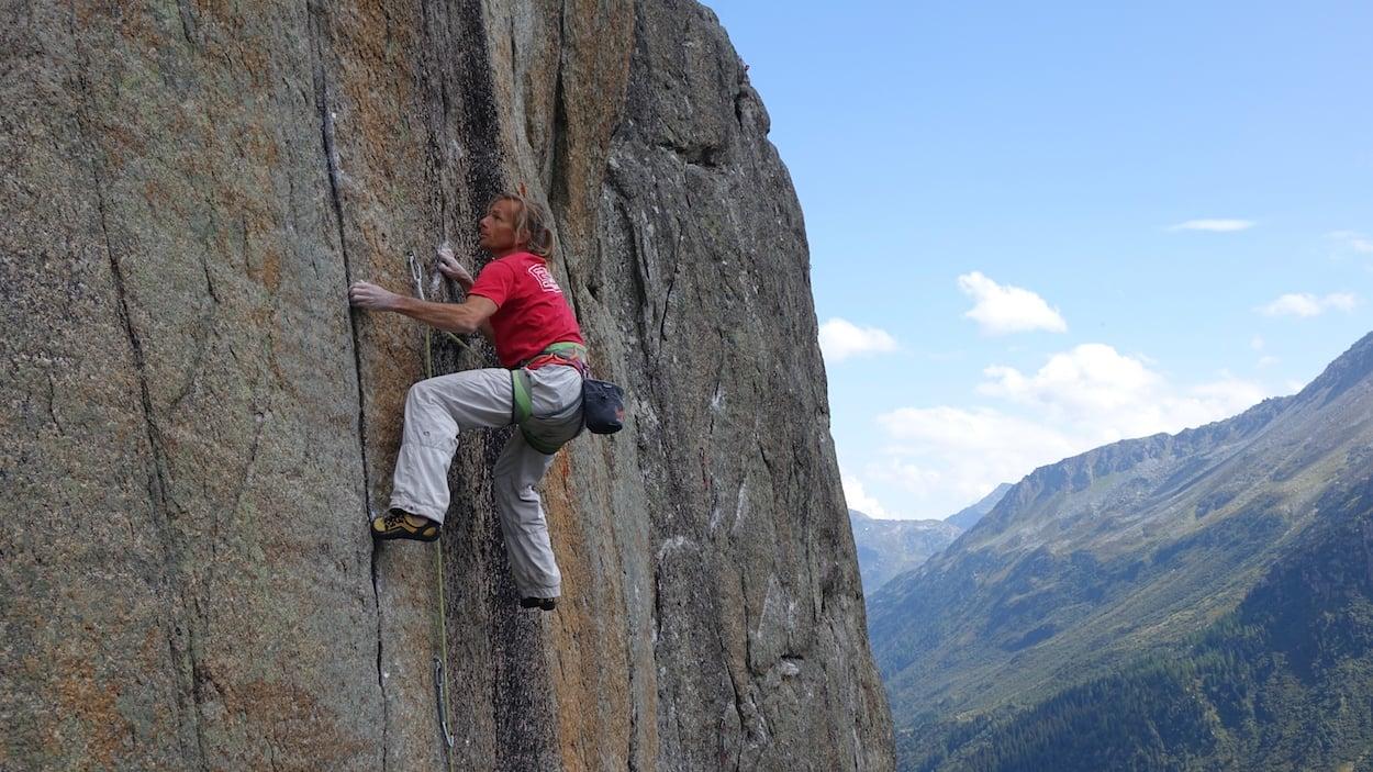 Wenn es richtig steil wird, blüht René Schweizer auf. Mit zunehmendem Alter klettert der Krienser aber weniger am Limit als früher.