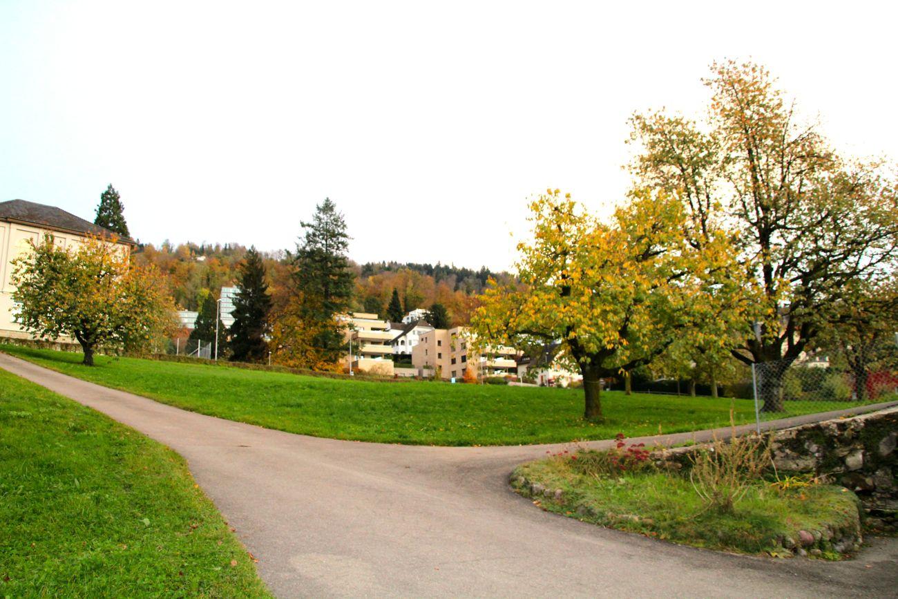Der Bebauungsplan sieht in diesem Teil des Areals Neubauten mit Wohnungen.