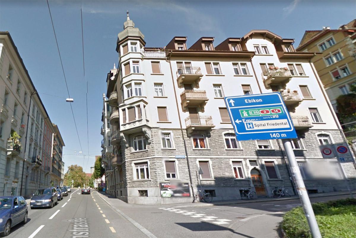 Dieses Haus an der Zürichstrasse müsste für die Spange Nord weichen.