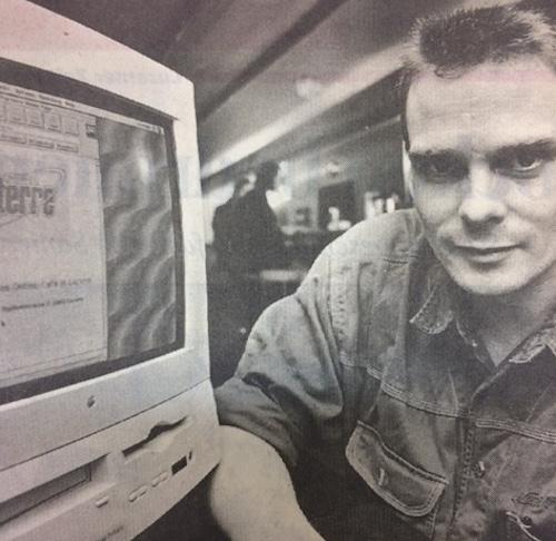 Sascha Welz, der «Internet-Wirt», titelten 1995 die Zeitungen.