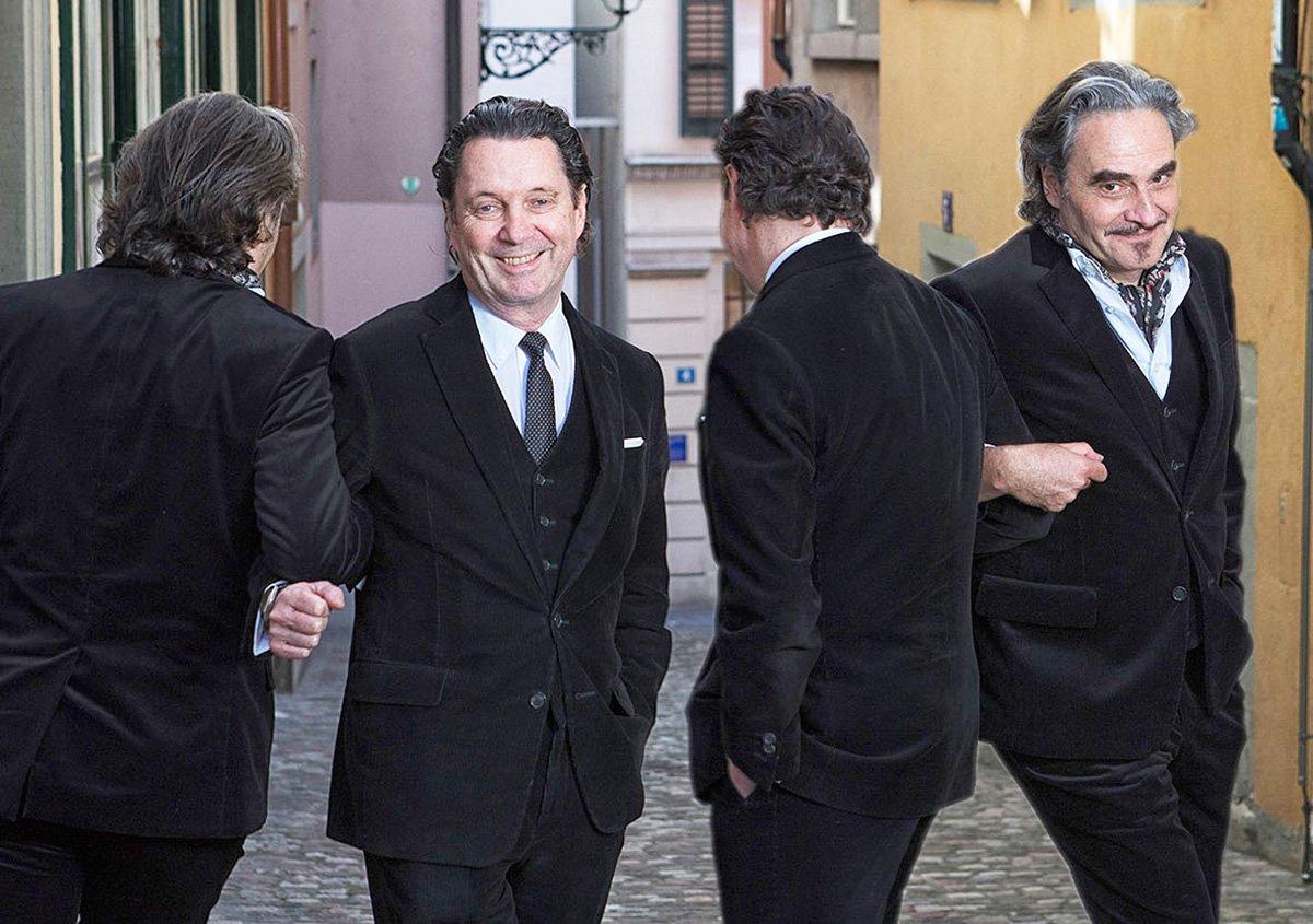 Eicher, Suter, Suter, Eicher: Diese zwei Herren mögen sich und harmonieren gut – auch bald im KKL.