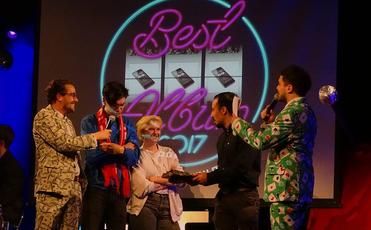 a=f/m – man spricht es «alpha» aus – gewannen mit ihrem Album «Download» den Preis für das beste Album 2017.