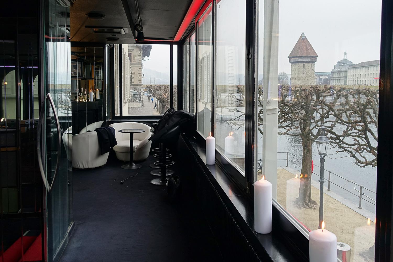 Die Aussicht auf die Stadt ist vom «Du Pont» grandios.