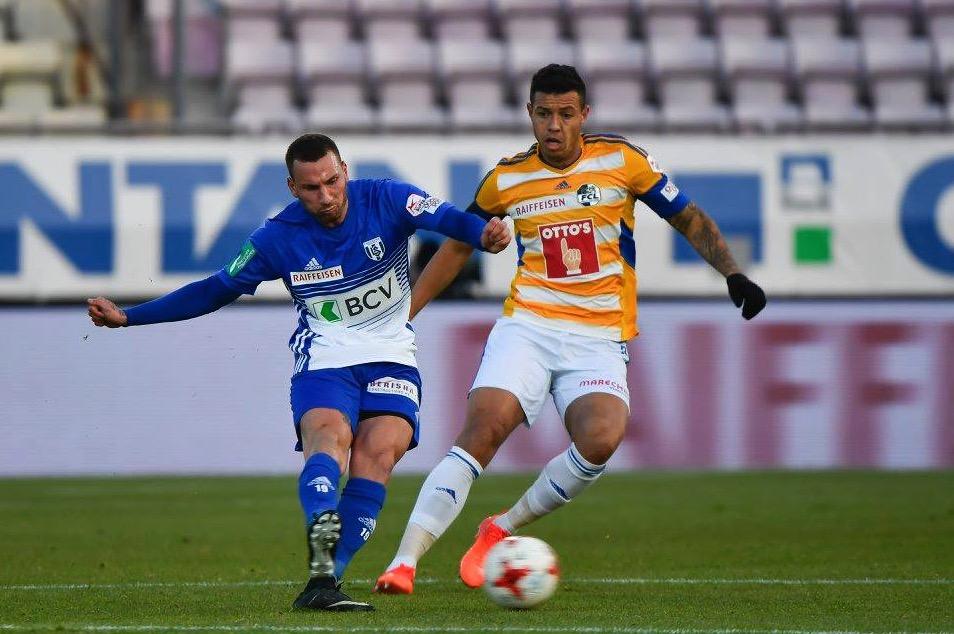 Lucas Alves im Spiel gegen den FC Lausanne.