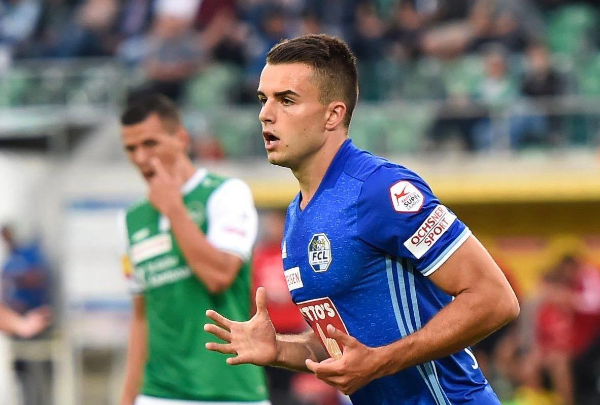 Yannick Schmid erzielte gegen den FC St. Gallen einen Treffer.