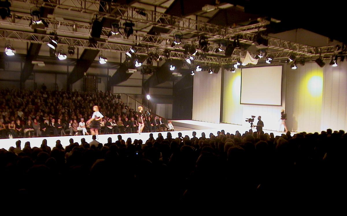 Ein Bild einer vergangenen Show des Fashion-Festivals «Gwand».