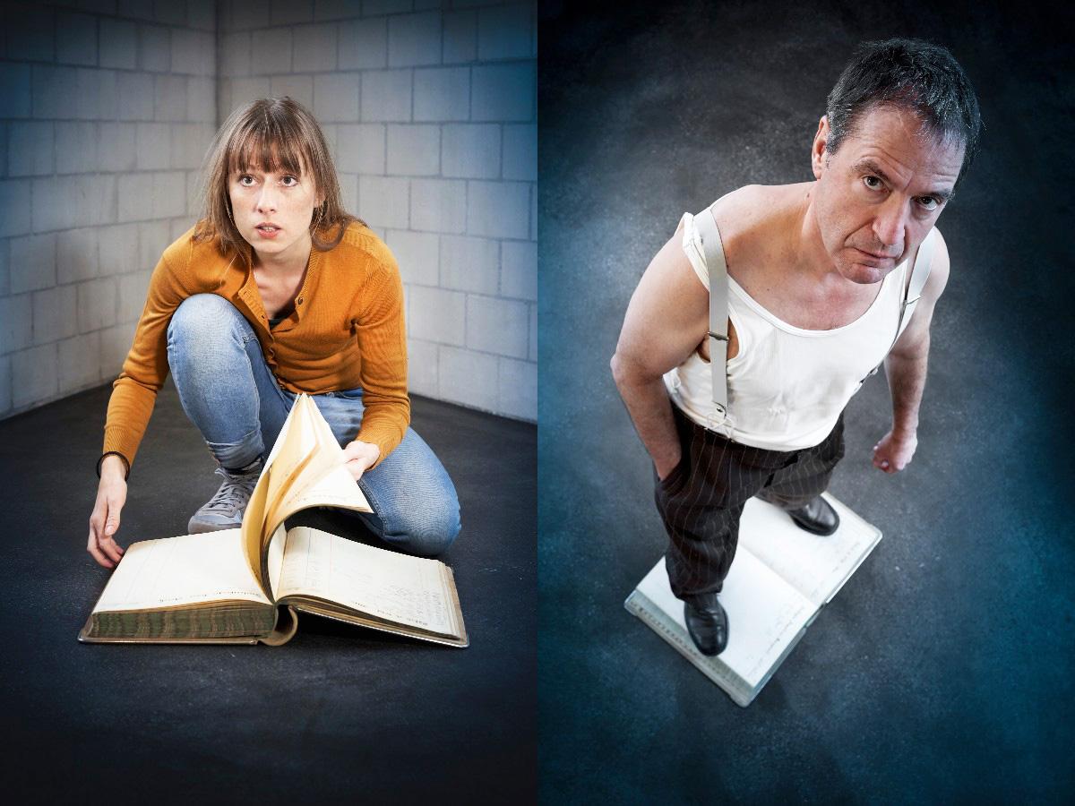 Pascale Pfeuti und Walter Sigi Arnold spielen die Hauptrollen in «Kronenhaufen».