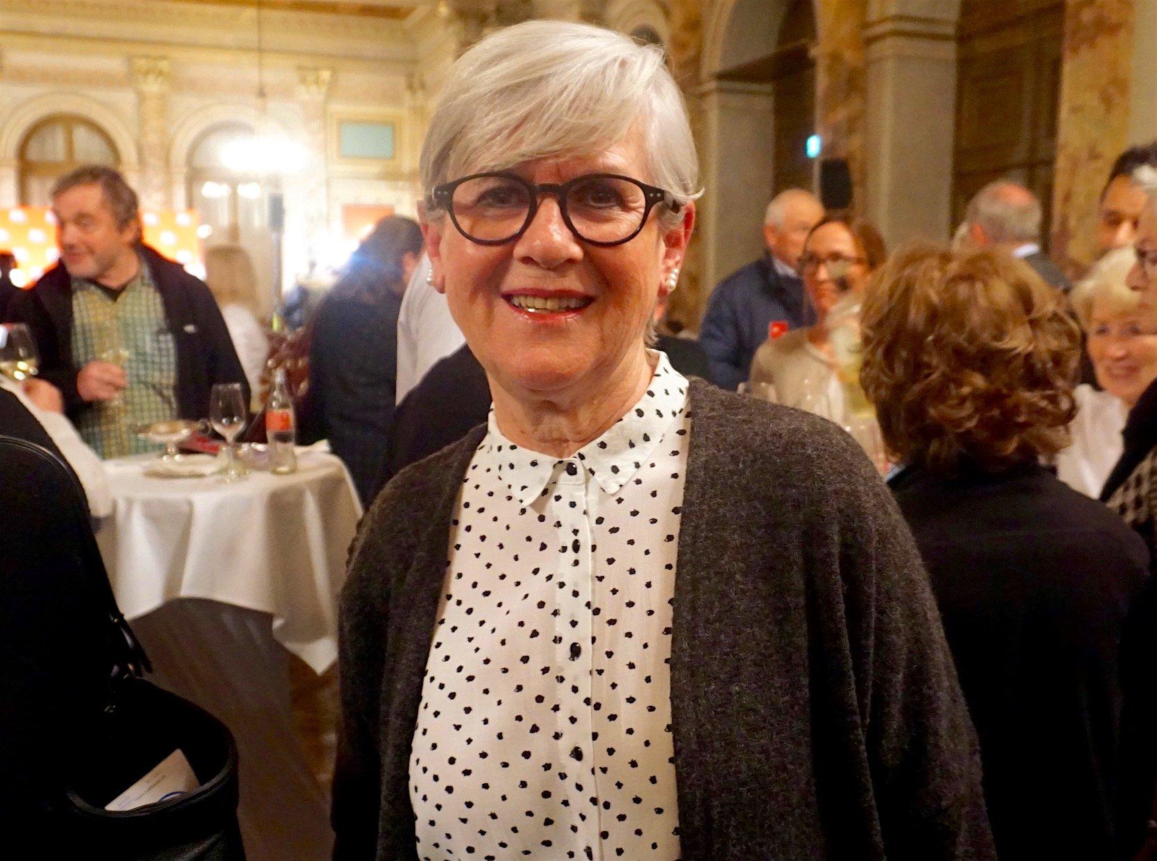 Die Luzerner alt Regierungsrätin Yvonne Schärli wollte sich den Anlass nicht entgehen lassen.