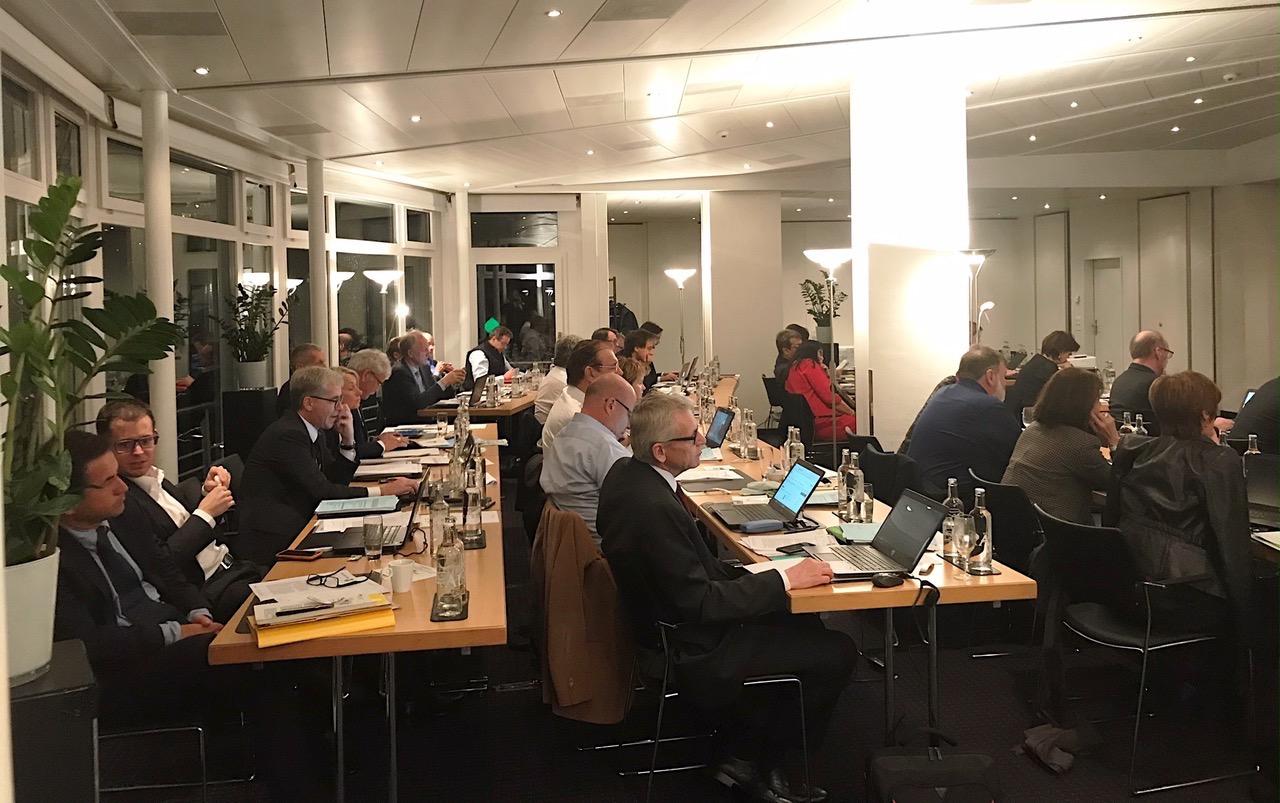 CVP-Bundesparlamentarier in Klausur.