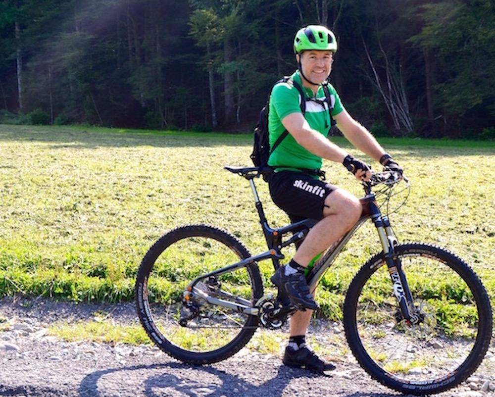 Der Udligenswiler Roland Fischer ist leidenschaftlicher Biker.