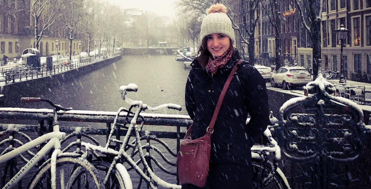 Migrantin an den Amsterdamer Grachten: Maria Charlotte Rast.