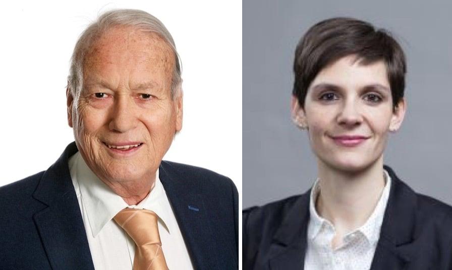 Joseph Schärli (SVP), der Ende Januar zurücktritt, und Noëlle Bucher (Grüne) haben am meisten gefehlt.