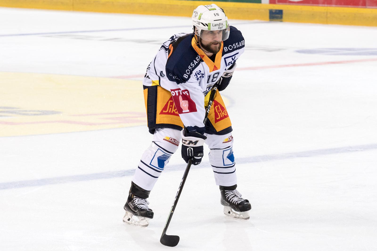 Dominik Schlumpf in Action im EVZ-Dress: «Läuft es an den olympischen Spielen gut, können wir den Schwung auch in Saison und Playoffs mitnehmen.»