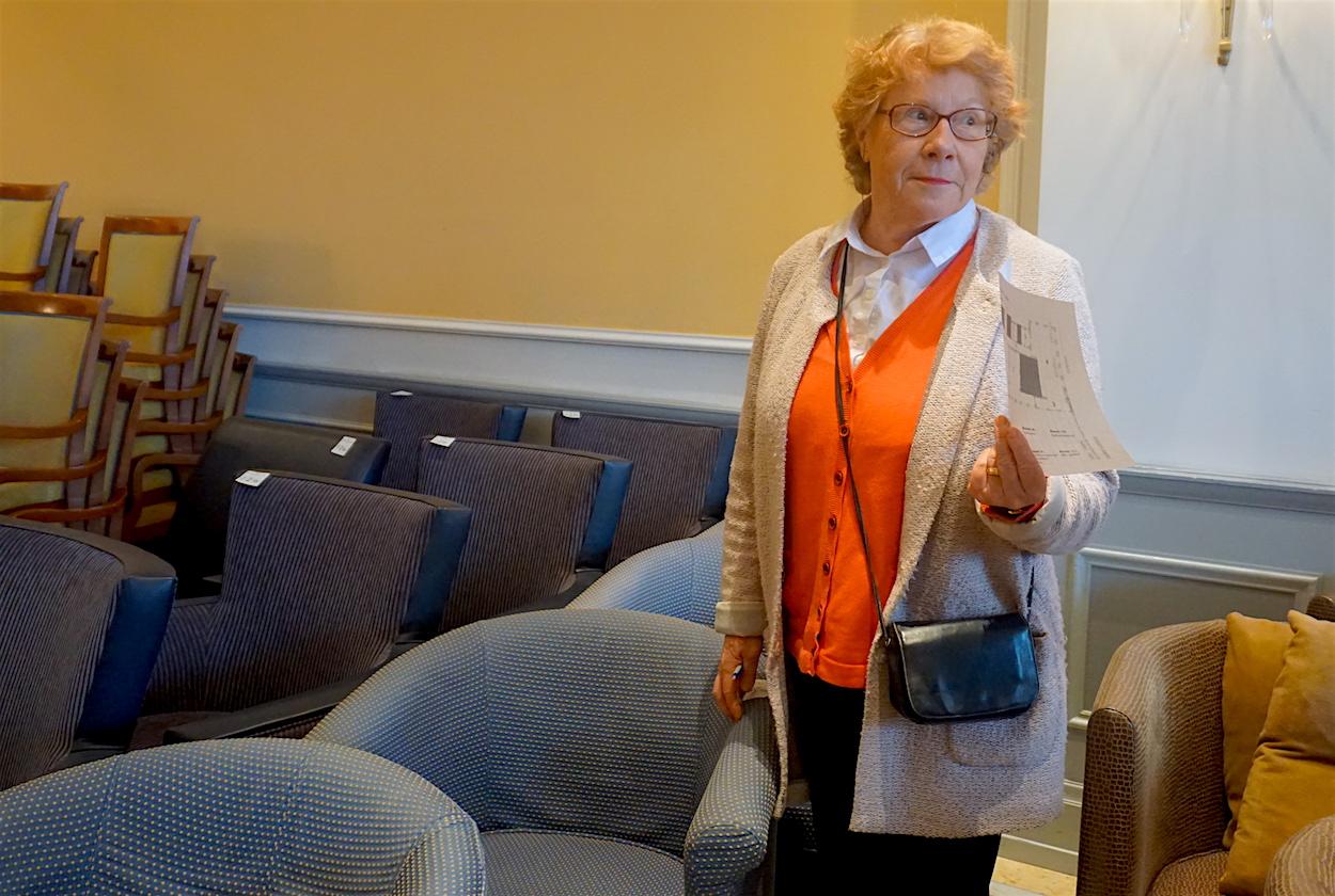 Annemarie Röthlin aus Adligenswil hat zwei Sessel gefunden.
