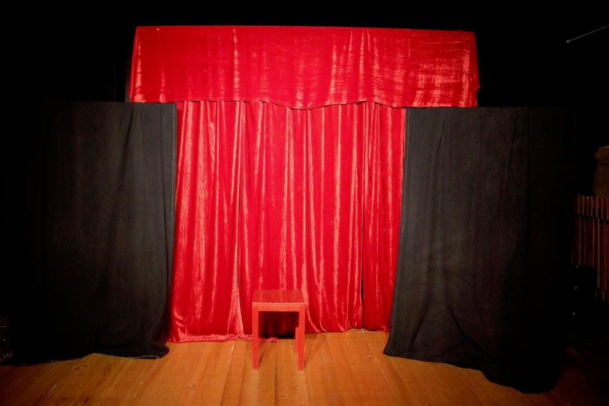 Die schmucke Bühne des «Schabernack partout ... Variété».
