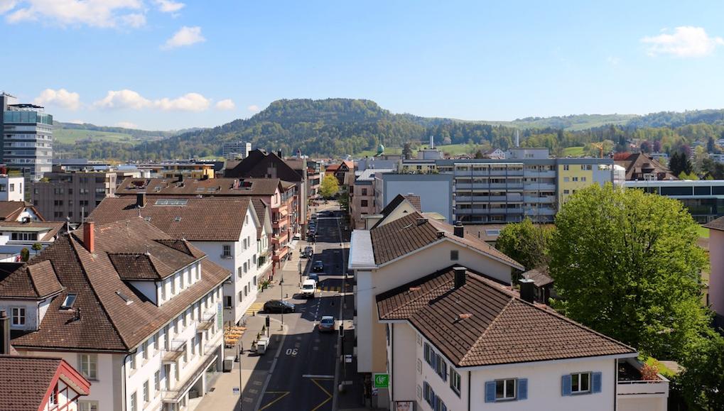 Villen, schicke Eigentumswohnungen, Mietkasernen und Altbauten: In Baar gibt's alles.