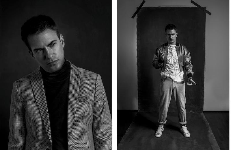 Seit 2017 wird Florian Burkhardt auch wieder als Model gebucht. (Bilder: Juventino Mateo Leon)
