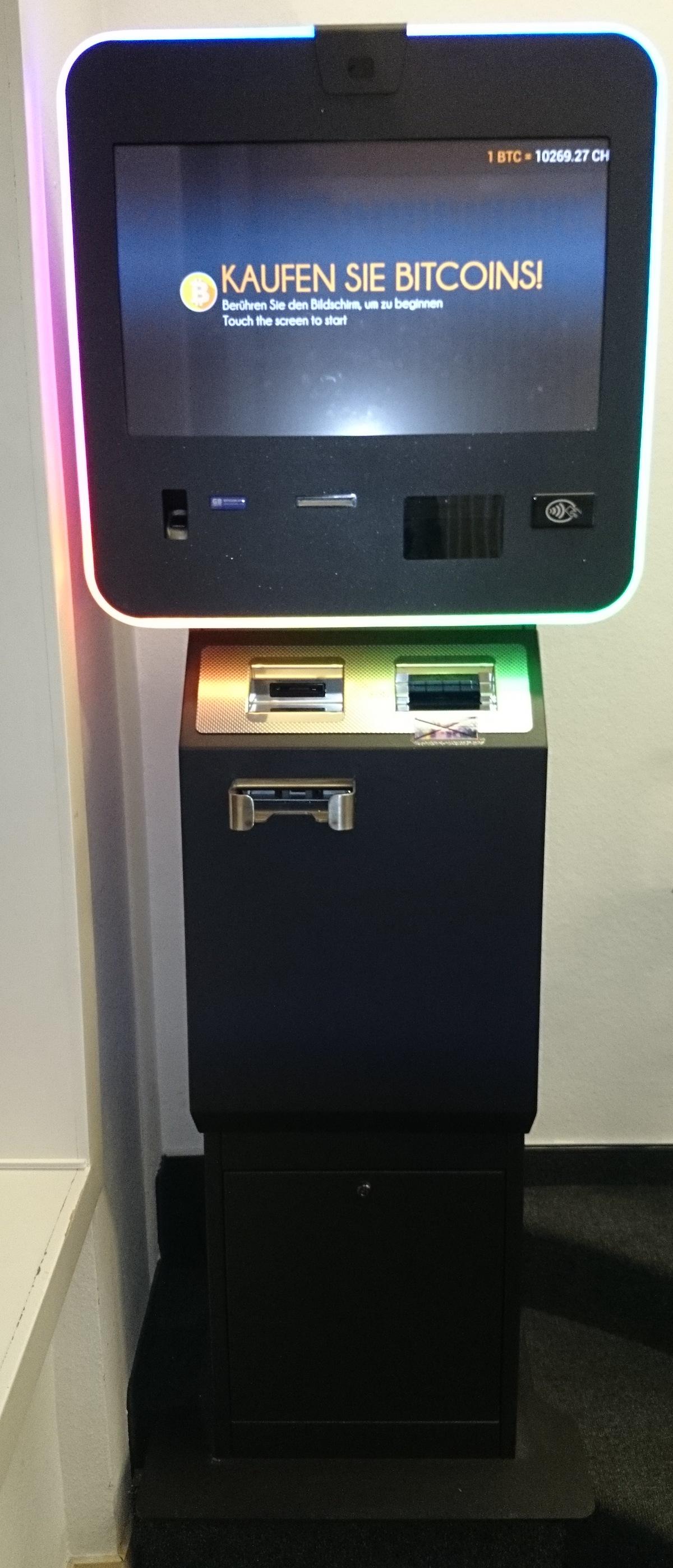 Bitcoins kaufen leicht gemacht am Bitcoin-Automaten