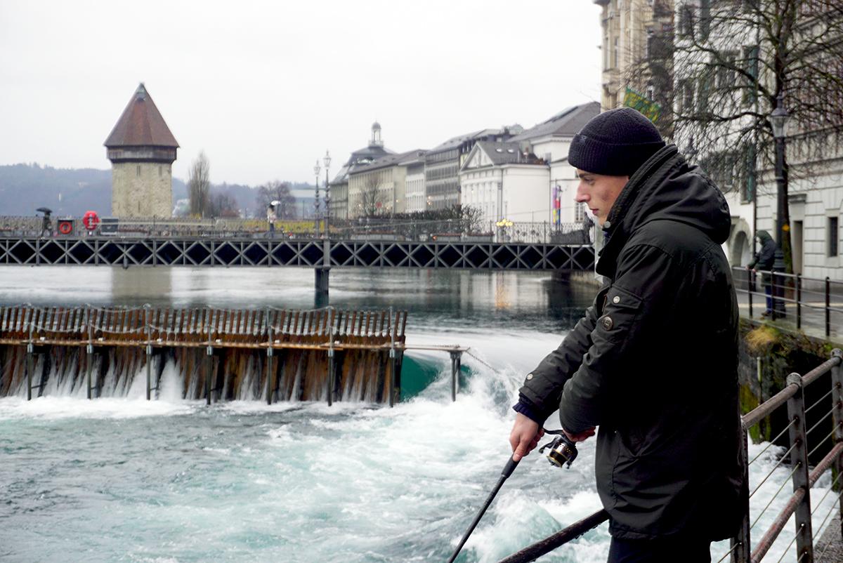 Wenn die Fische nicht anbeissen, sei es nicht ganz so eine beruhigende Beschäftigung, gibt Matti Rast zu.