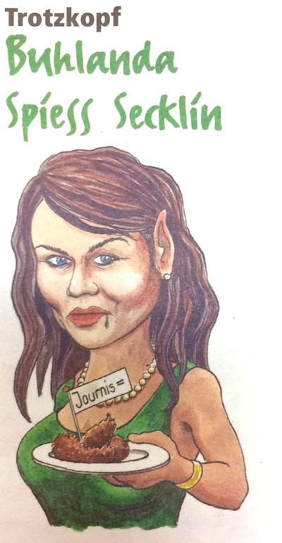 Jolanda Spiess Hegglins Blog bei zentralplus ist bei den Fasnachts-Satirikern äusserst beliebt.