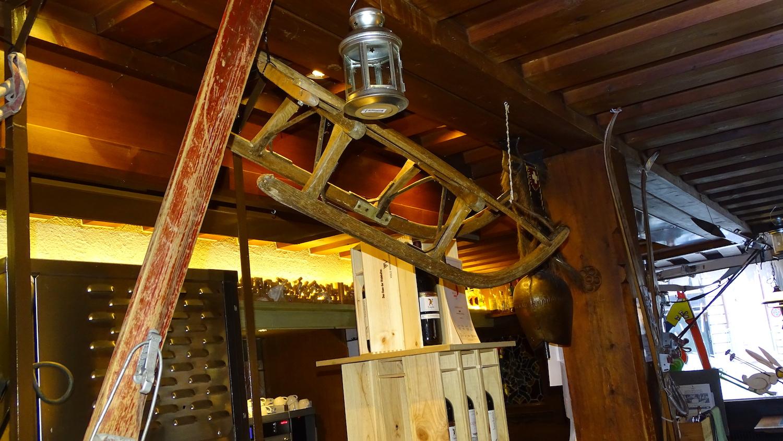 Urchig: Die Skihütte des Restaurants «Lapin» schaffte es auf den dritten Rang.