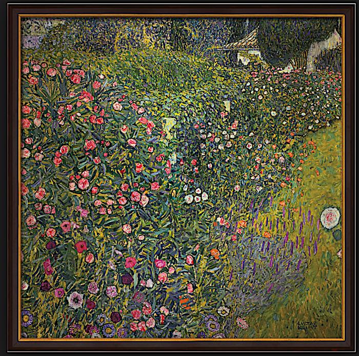 Gustav Klimts «Italienische Gartenlandschaft» (1913) hängt im Zuger Kunsthaus und ist Bestandteil der Stiftung Sammlung Kamm.