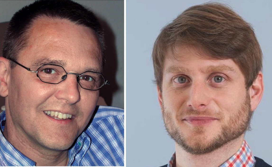 Hanspeter Vogler (links) und Urban Sager (rechts) sind nicht gleicher Meinung.