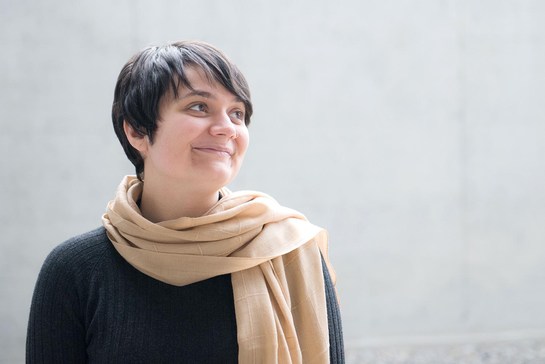 «Man spürt den Umbruch»: Larissa Odermatt steckt im zweiten Jahr ihrer Filmausbildung an der Kunsthochschule.
