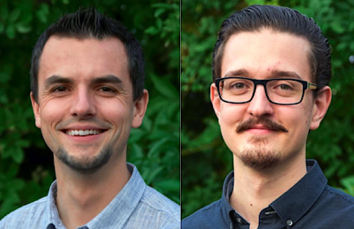 Christian Huber (links) ist Präsident der Jungen SVP des Kantons Luzern, Patrick Zibung Vorstandsmitglied und Marketingverantwortlicher. Er verrichtet auch die Medienarbeit der Luzerner SVP.