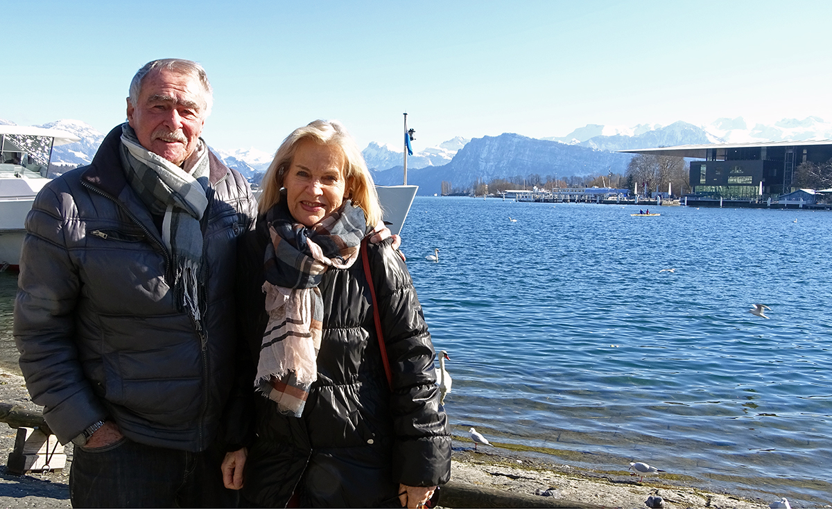 Das Ja-Wort gaben sich Hans-Martin und Elisabeth Moser vor 26 Jahren im Schloss Meggenhorn. «Es war wunderschön», so Elisabeth Moser.
