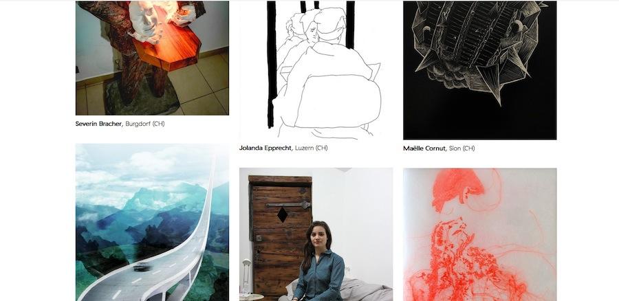 Online klickt man sich bei NoA durch eine wachsende Zahl von Künstlern, die ihre Werke vermieten.