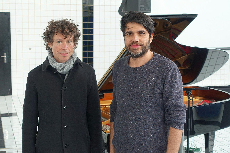 Ein Duo, das sich gut kennt: Urban Lienert (links) und Hans-Peter Pfammatter.