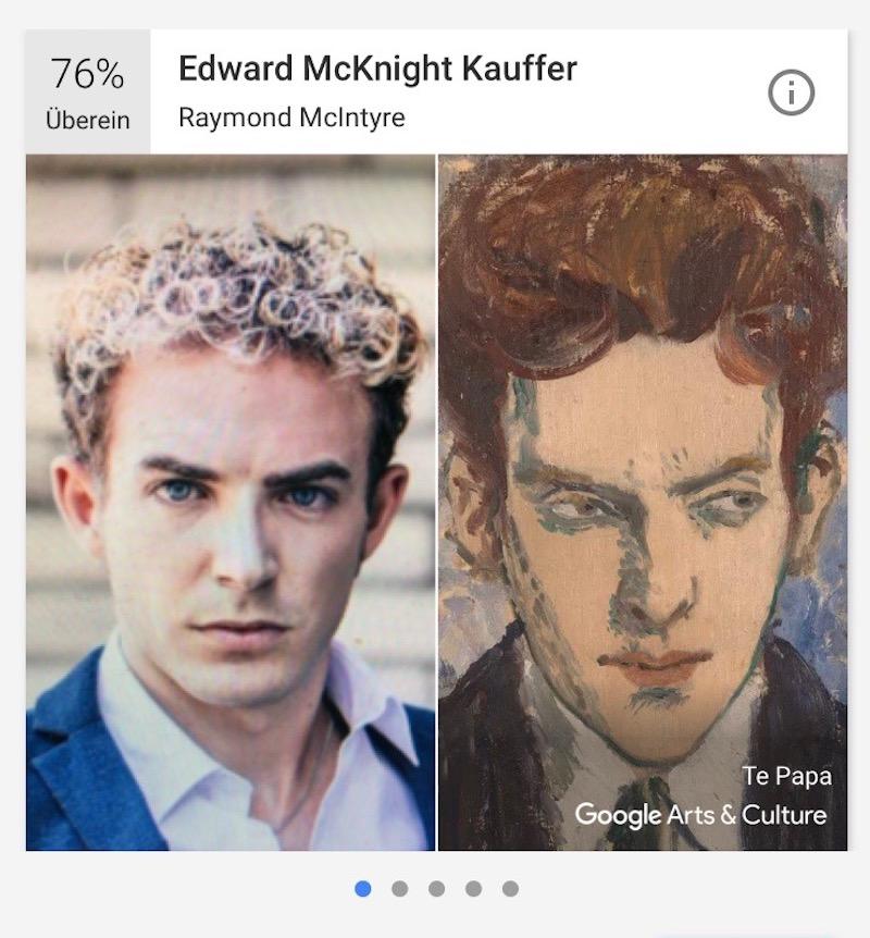 Böse Jungs? Comedian Michael Elsener und sein Portrait-Zwilling.