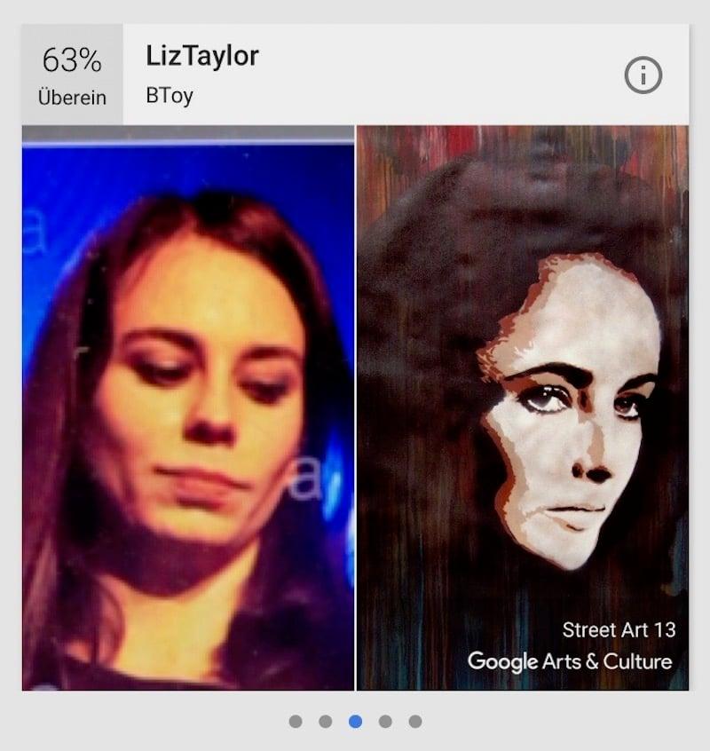 Berühmte Doppelgängerin: Delilahs-Frontfrau Muriel Rhyner und Liz Taylor.