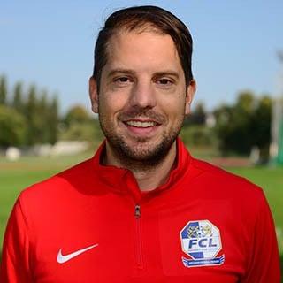 Sandro Waser, U-17-Trainer der FC Luzern Spitzensport Frauen.