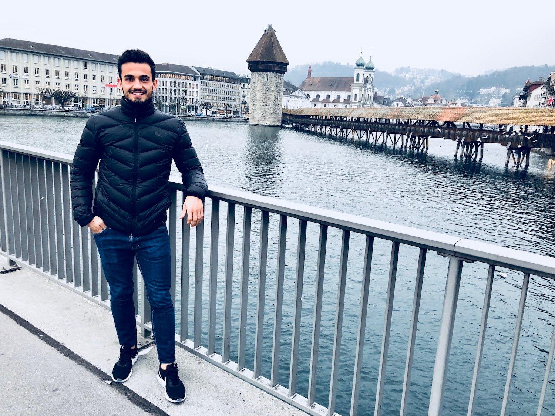 In Luzern ist Bujar Lika aufgewachsen. Hier fühlt er sich zu Hause. Er sagt selber: «Ich kenne jeden Winkel der Stadt.»