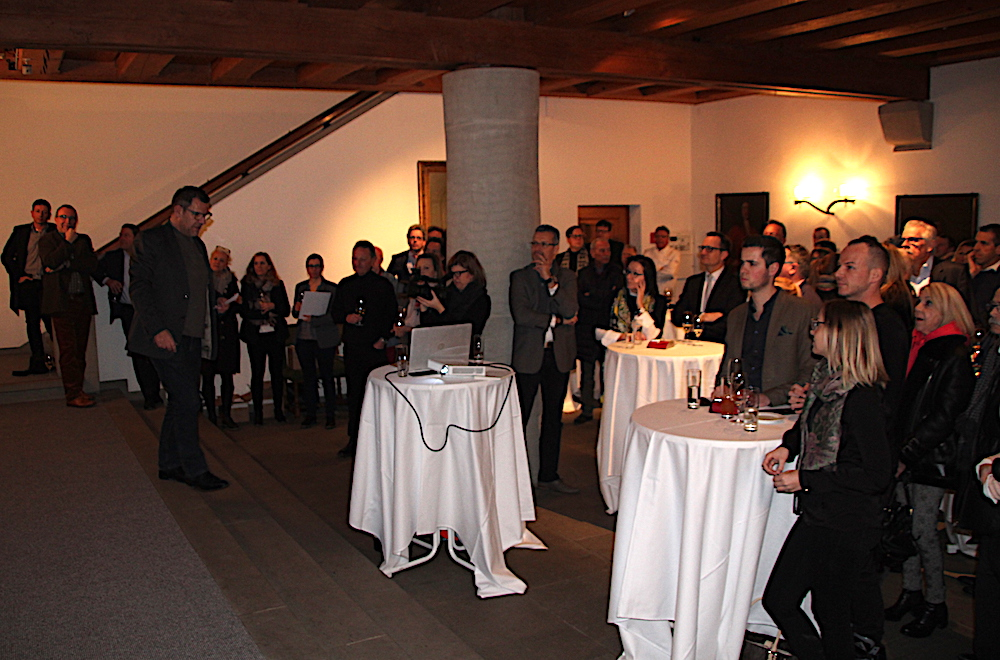 Die Programmpräsentation des Genuss-Film-Festivals im Rathaus-Foyer war gut besucht.