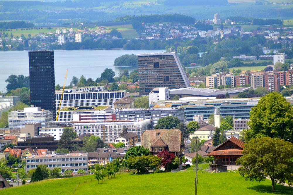 Die Stadt Zug wächst nach innen: Verdichtung ist in den nächsten Jahren angesagt.