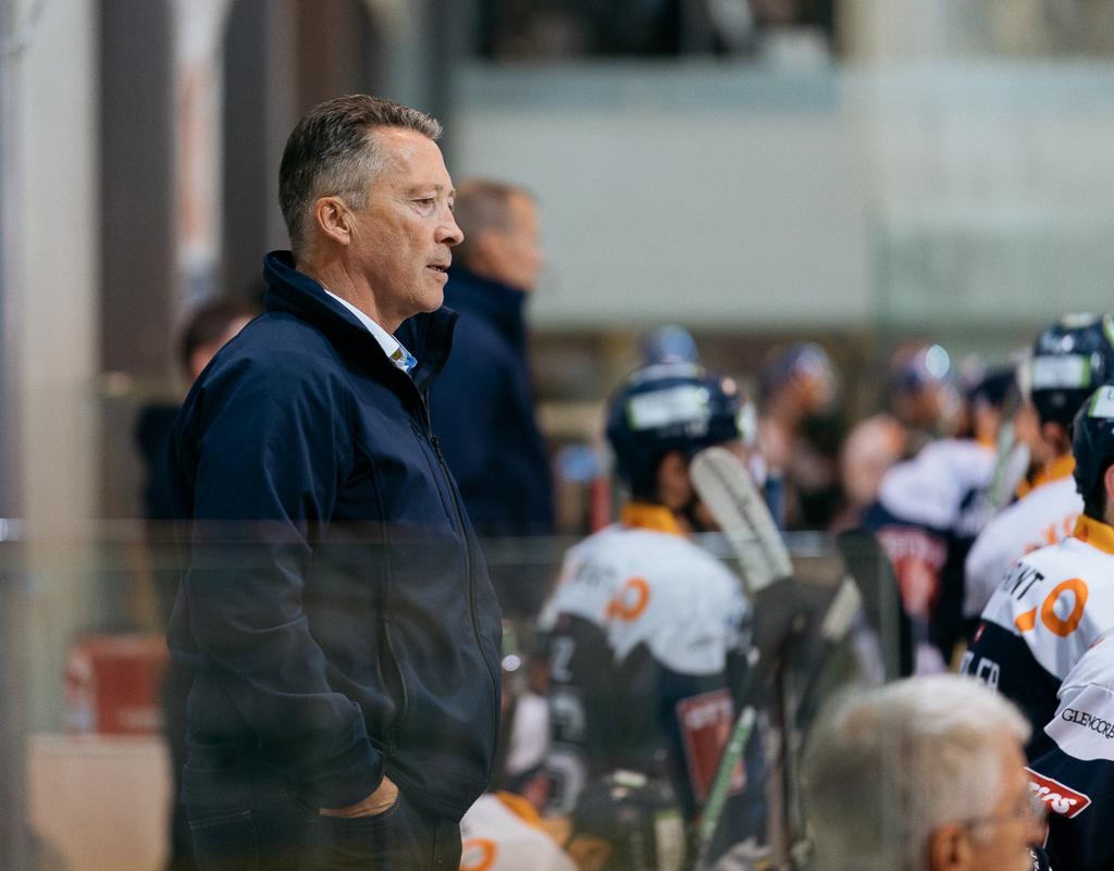 Trainer Harold Kreis während dem Finalspiel.
