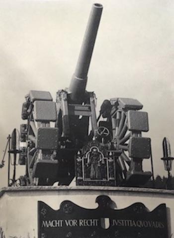 So sah die Kanone original aus.