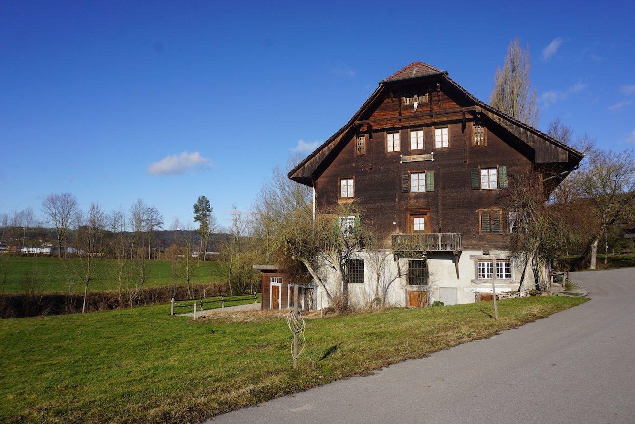 Die Ronmühle im idyllischen Nirgendwo von Schötz.