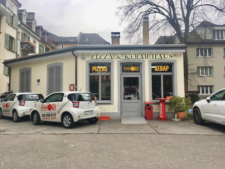 Hier liess Hussein Karakoc die Dönerspiesse drehen: das Pizza