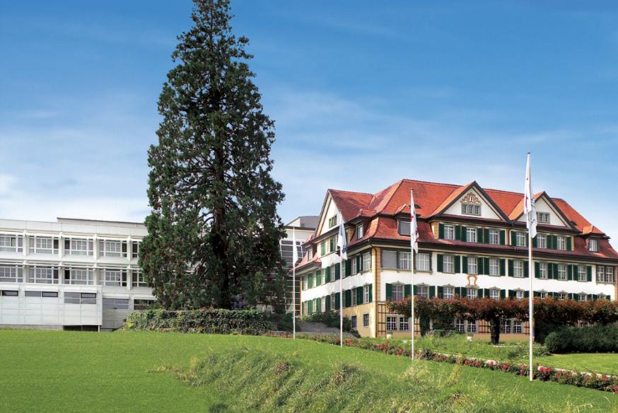Die Chamer Andreas-Klinik, die zur privaten Hirslanden-Gruppe zählt.