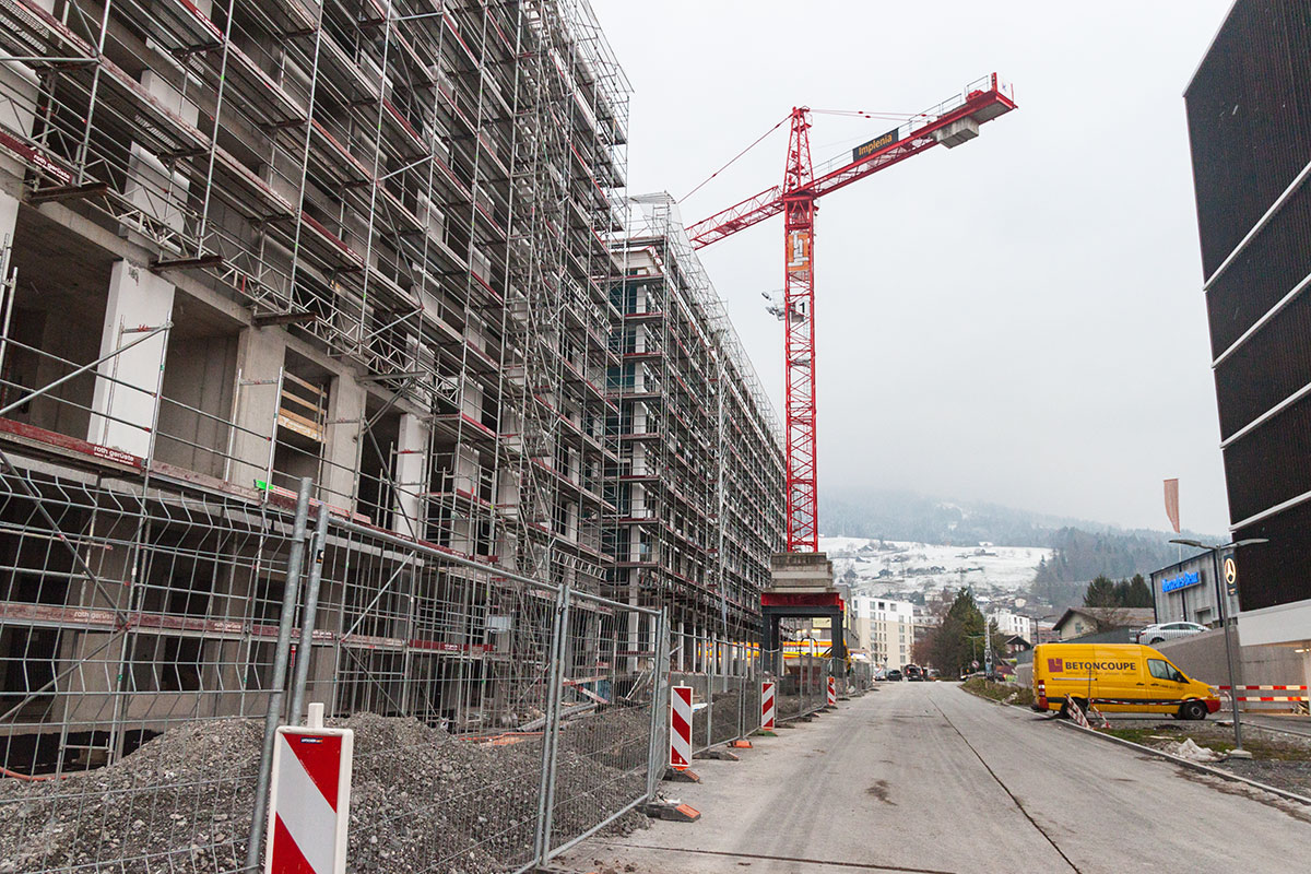 In der «Mikropole Mattenhof» werden rund 300 Wohnungen geschaffen. Zudem sind Geschäfte, Büros und ein Hotel geplant.