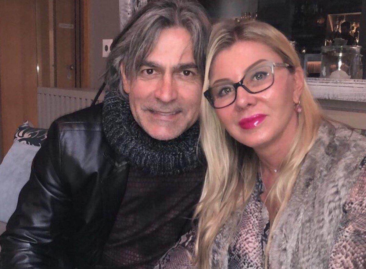 Die Liebe in Luzern gefunden: Maurizio Jacobacci mit Ilona Hug.