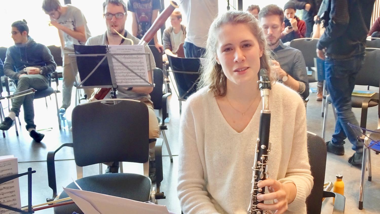 Die Klarinettistin Charlotte Röttger aus Hünenberg ist Präsidentin des ZJSO.