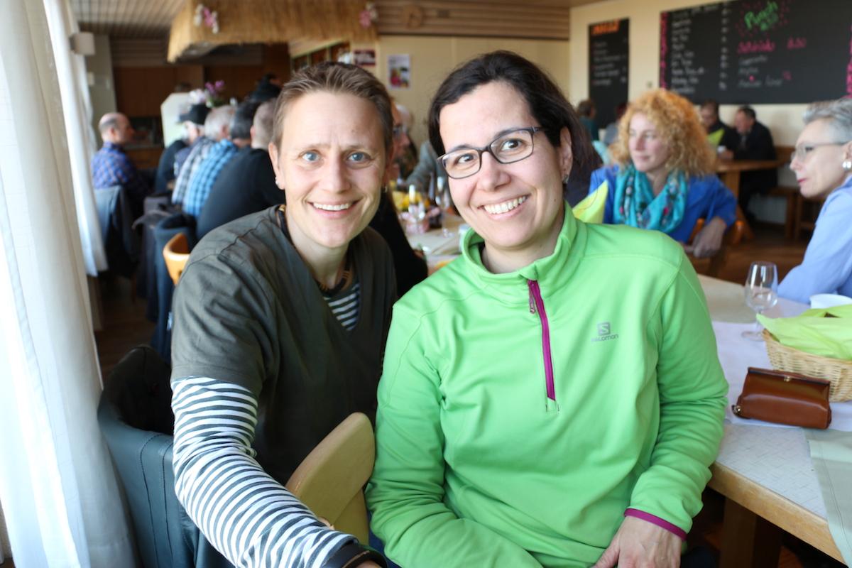 Für sie ist der Entscheid von grosser Bedeutung: Die Lehrerin Catherine Scherer und die Heilpädagogin Maya Feld hätten sich bei einem «Ja» neue Jobs suchen müssen.